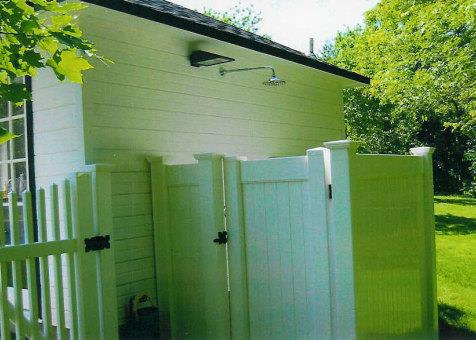 Cedar catalina pool house 14ft with dormer in Mississauga Ontario. ID number 153-7.