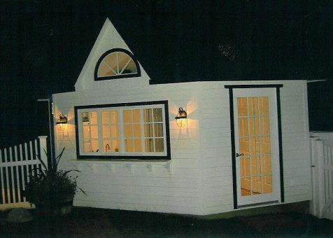 Cedar catalina pool house 14ft with dormer in Mississauga Ontario. ID number 153-5.