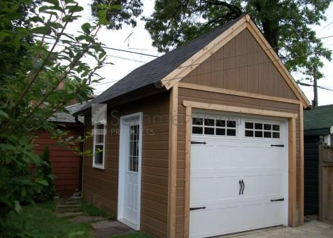Woodworking workshops garage workshops summerwood for Prefab garage ontario