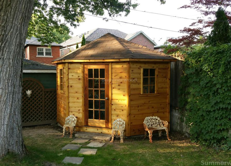 Cedar Catalina 10ft Garden Shed Located In Toronto, ON. ID Number 220666