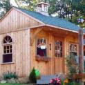 glen echo cabin 10x14 cabin with deluxe single door in Toronto Ontario. ID number 1089-1.