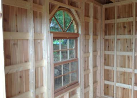 Custom Bala bunkie 10 x 10 with double french doors in Ontario. ID number 165870-7