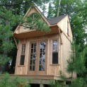 Custom Bala bunkie 10 x 10 with double french doors in Ontario. ID number 165870-9