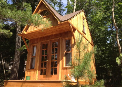 Custom Bala bunkie 10 x 10 with double french doors in Ontario. ID number 165870-1