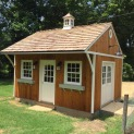 Glen Echo cabins 16x16 with windowed cupola in Nashville Tennesse. ID number  206128-1