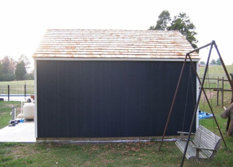 Glen Echo 12x18 home studio with double doors in Knoxville Tennessee. ID number 206121-3