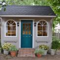 Glen Echo 8x12 home studio with green door Overland Park Kansas.ID number 206126-5