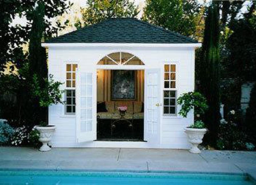 Sonoma Pool Houses 12x12ft