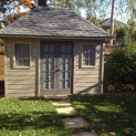 Sonoma 8x12 garden shed with standard fixed window In Toronto Ontario. ID number 200534-1