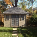 Sonoma 8x12 garden shed with standard fixed window In Toronto Ontario. ID number 200534-2