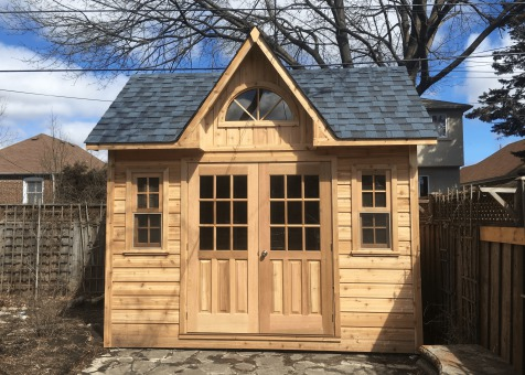 Copper creek 8x10 garden shed with double door in Toronto Ontario. ID number 217231-4