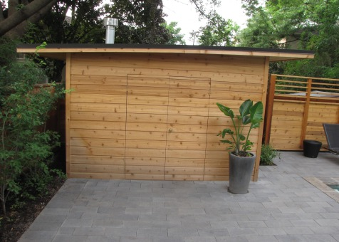 Cedar Dune 8 x 12 garden shed with double door in Toronto Ontario. ID number 111727-1