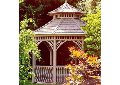 Victorian gazebo 10 ft with cupola. ID number 5780-1.