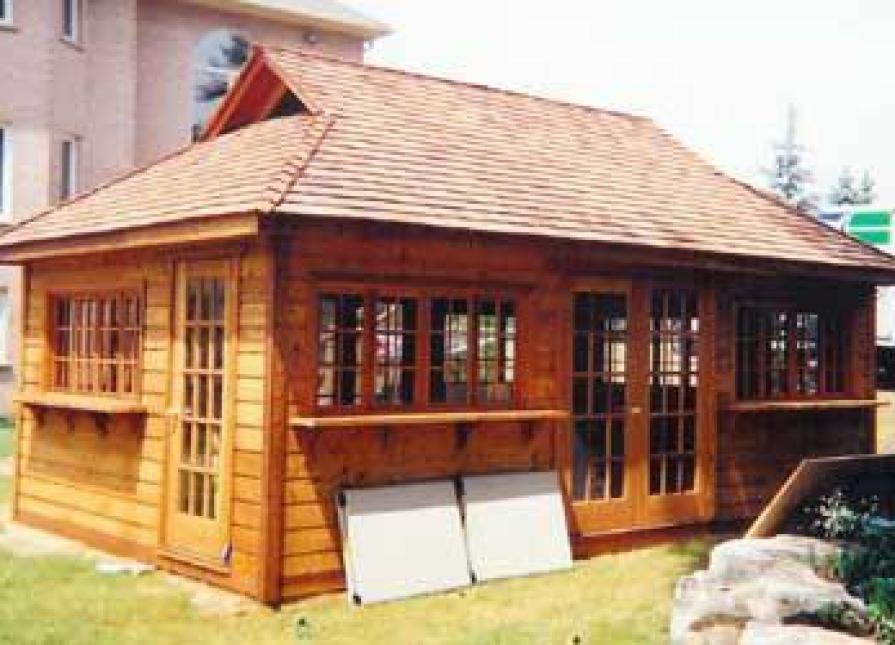 Santa Cruz Pool Houses 22x22ft