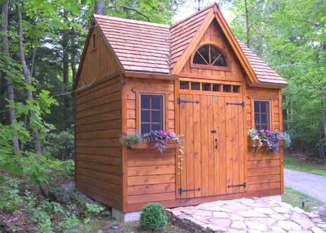 telluride garden shed 10 x 14 with double doors in dervish ohio - Garden Sheds Ohio