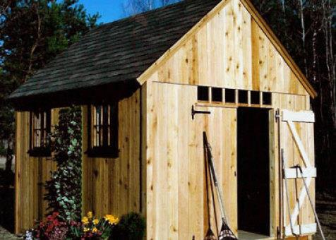 Telluride garden shed 10x12 with double doors in Duluth Minnesota. ID number 64-2.