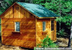 Saltbox Bunkie 8 by 12, [15089] - U.S.$16.99 : Projects and Plans