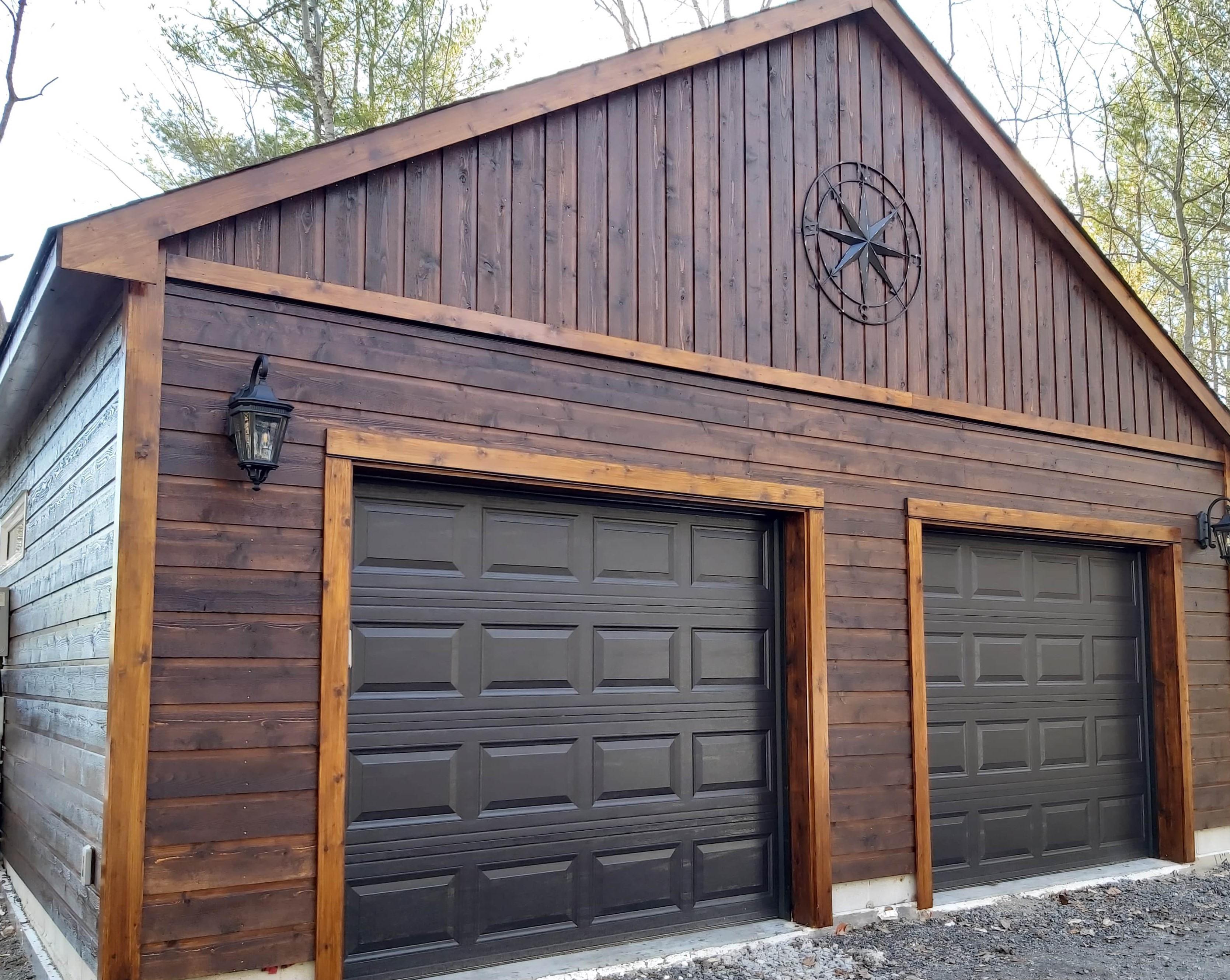 Alpine Two Car Garage Loft Summerwood Products