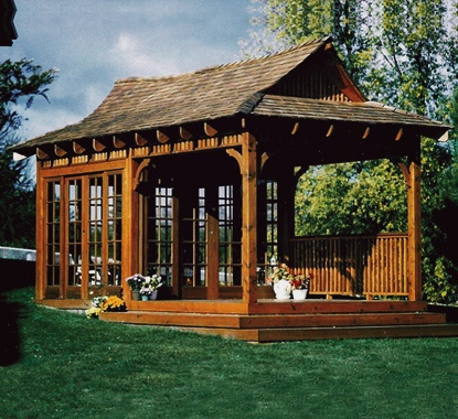 Bali Tea House Japanese Style Gazebo Summerwood Products