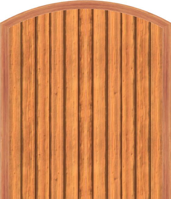 D5 Double Arched Doors