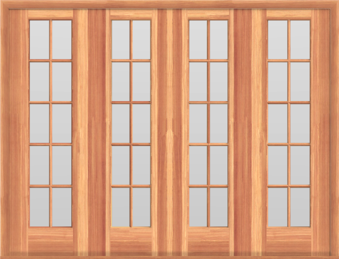 SDD9 Sliding Double French Doors