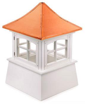 Vinyl Windowed Cupola (2122WV)