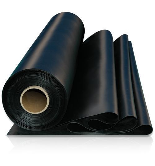 EPDM Rubberized Flat Roofing (Black)