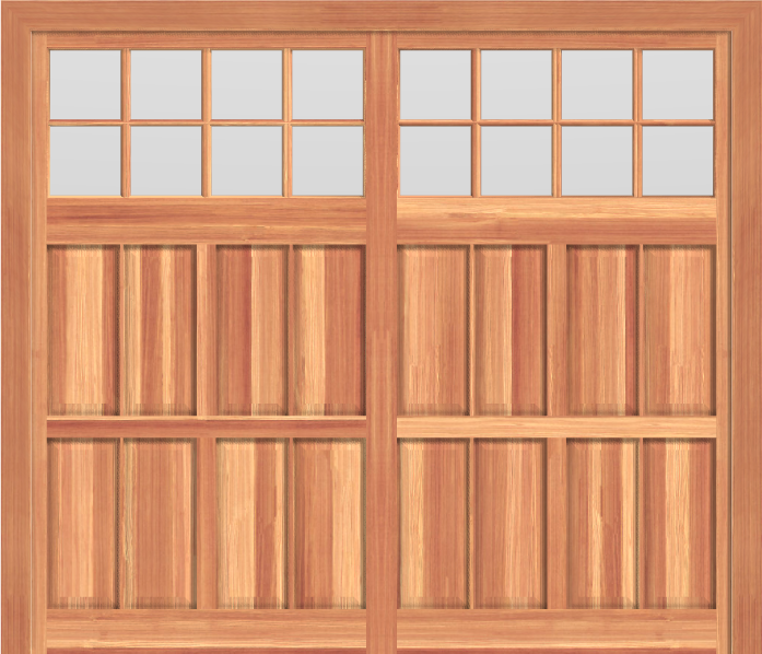 GD508 - Coach Style Garage Door 508