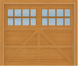 SCGD512 - Summerwood Cedar Carriage Garage Doors 512