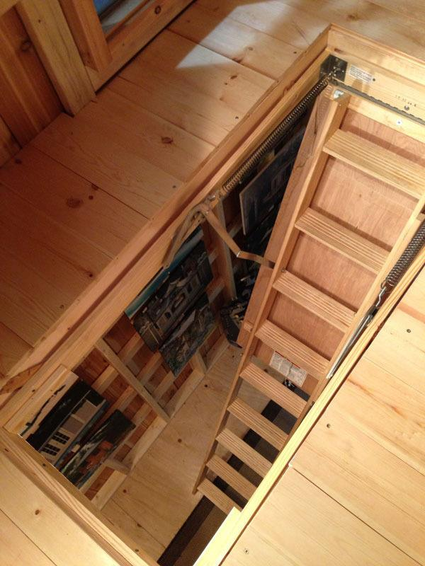 Drop Down Loft Ladder