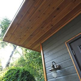 Timberwolf Canexel Siding featured on an Urban Studio