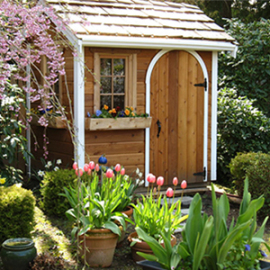 Our Antique Hardware featured on A Palmerston Garden Shed In Issaquah, Washington