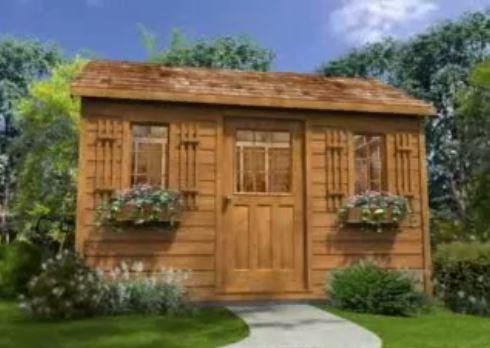 Shed Take A 3D Tour  channel siding Summerwood