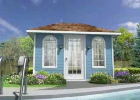 Pool Canexel Take A 3D Tour shingle roof Summerwood