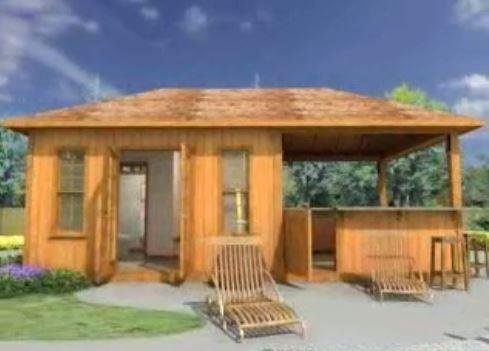 Surfside Pool Cabana Take A 3D Tour Summerwood