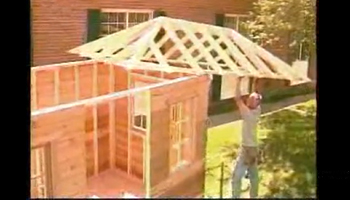 Raising the Roof/Dormer (Sonoma) - Summerwood Kits Assembly Video
