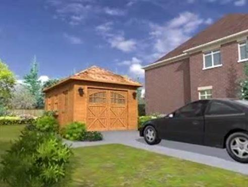 Garage Take A 3D Tour Urban House Setting Summerwood
