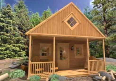 Cabin Take A 3D Tour Forest setting Summerwood
