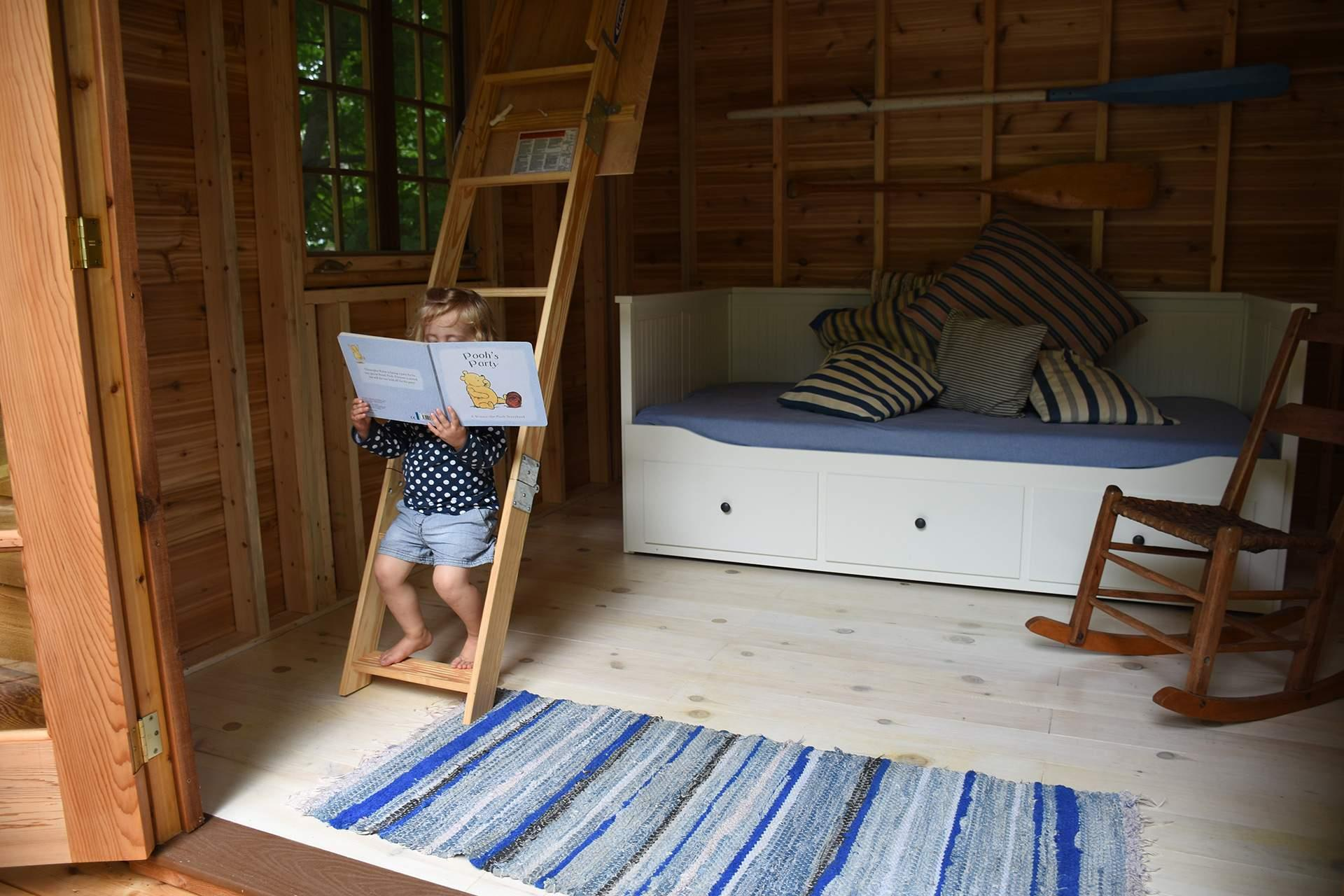 the bala bunkie one of our star cabin kits summerwood