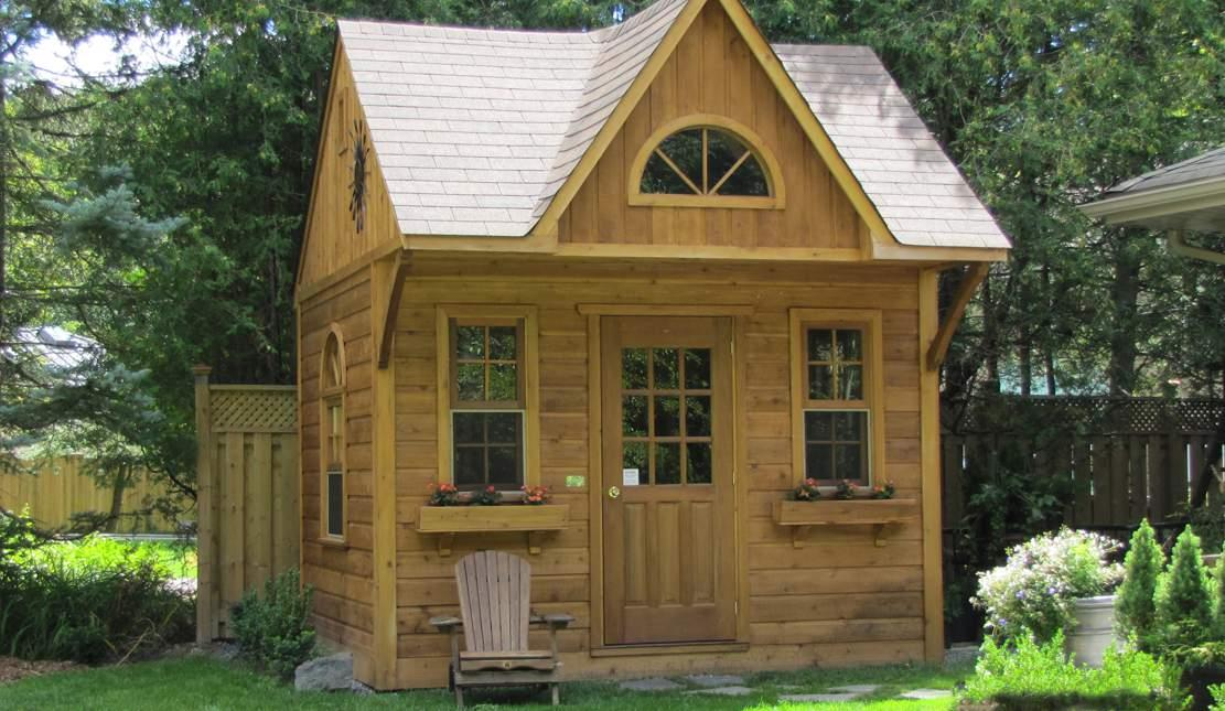 The bala bunkie one of our star cabin kits summerwood for Cottage bunkie plans
