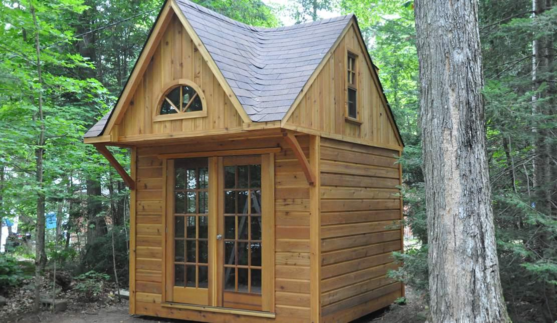 The bala bunkie one of our star cabin kits summerwood for Garage packages nova scotia