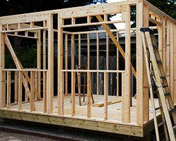 Building material framing Summerwood