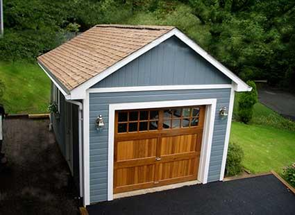 Choose A Pre Cut Garage Or Closer To Finished Pre Assembled Garage. They  Come With All The Thinking Done And Include Nearly All Youu0027ll Need, Like  Wood, ...