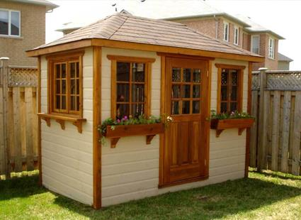 Wooden Outdoor Garden Shed Kits For Sale Upgrade Your Back Yard - Backyard cabin kits