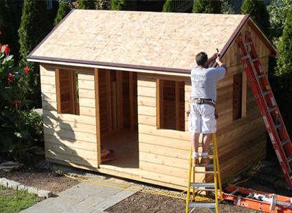 build a diy shed kit summerwood - Garden Shed Kits