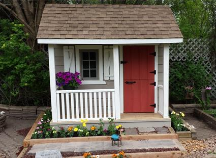 Building Your Children's Outdoor Playhouse is Child's Play