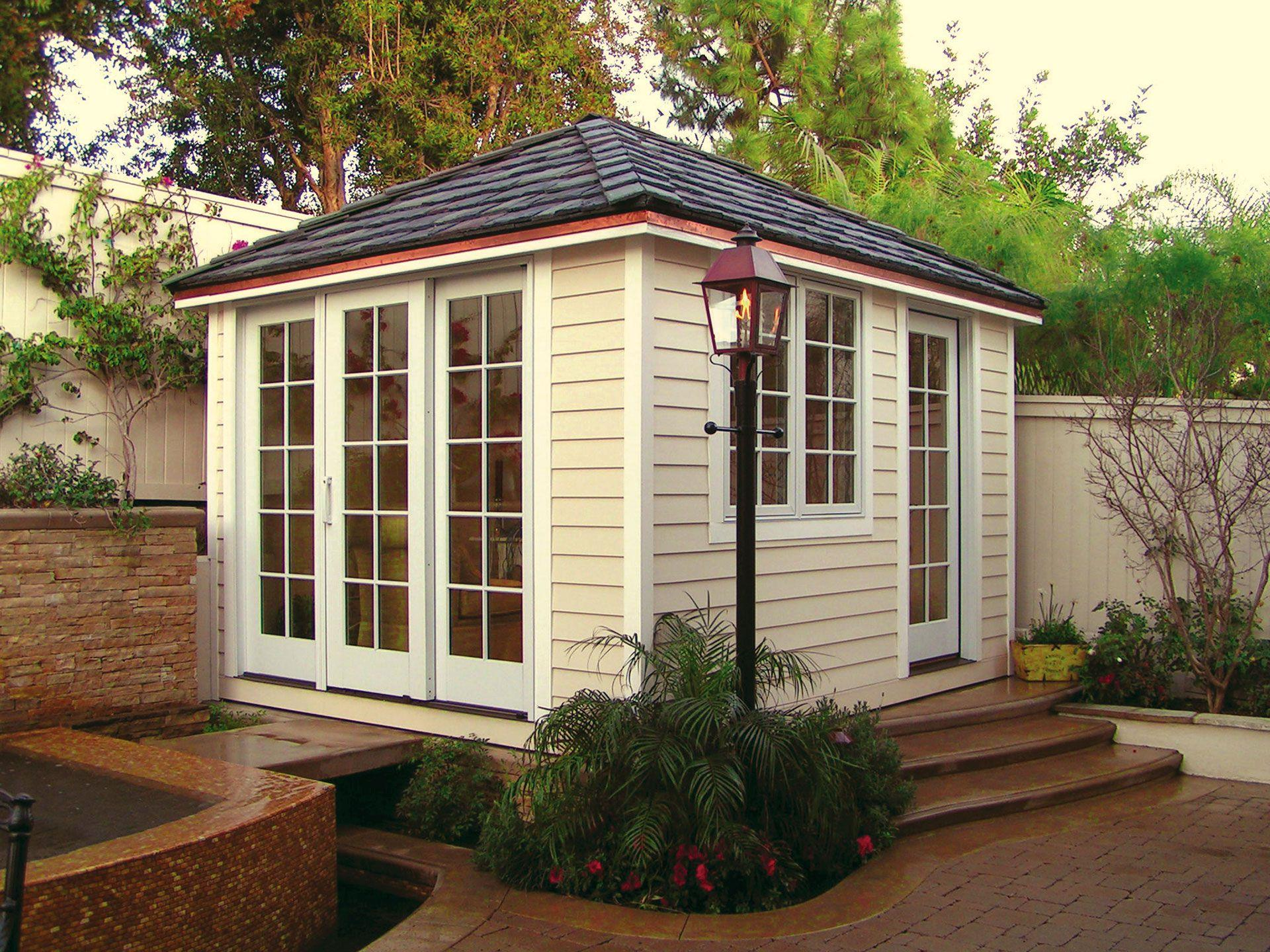 Traditional Spa Enclosure Sheds Design Trade Program Summerwood ID number 5146