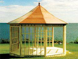Gazebo roofing information Copper Summerwood