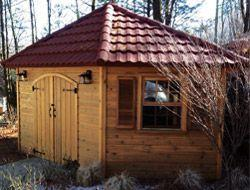 Shed roofing information clay Summerwood