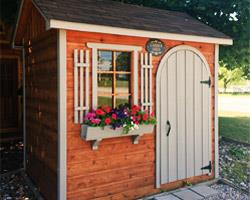 Siding Material Garden Shed cedar channel Summerwood ID Number 192335